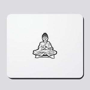 Life is buddhaful Mousepad