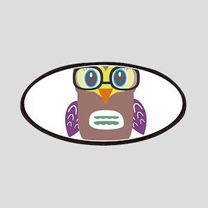 Nerdy owl Patch