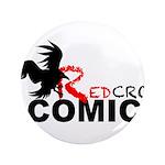 Red Crow Comics T-shirt Button