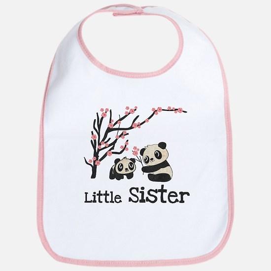 Pandas Little Sister Bib