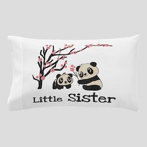 Pandas Little Sister Pillow Case