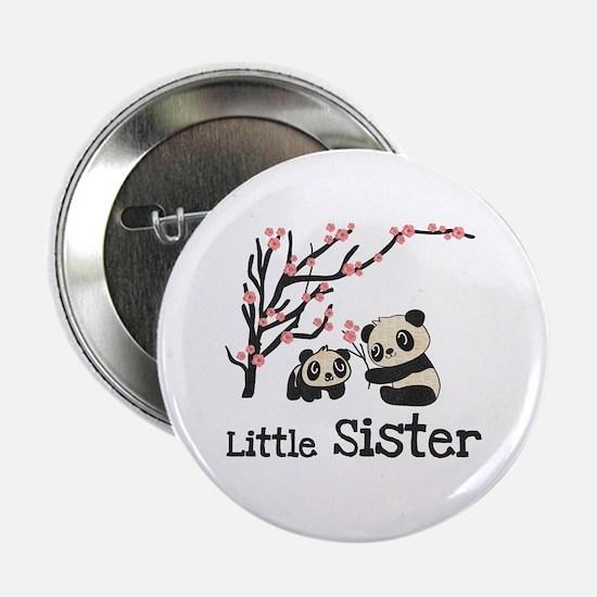 "Pandas Little Sister 2.25"" Button"
