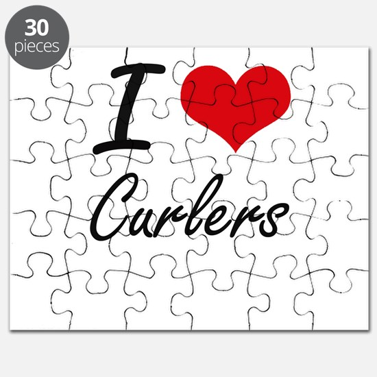 I love Curlers Puzzle