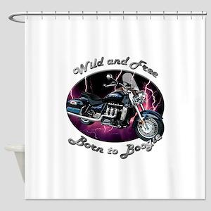 Triumph Rocket III Touring Shower Curtain