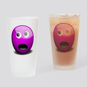Purple Opinionated  Drinking Glass