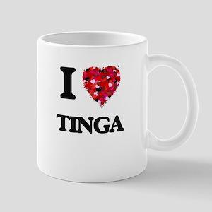 I Love My TINGA Mugs