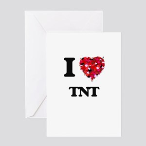 I Love My TNT Greeting Cards