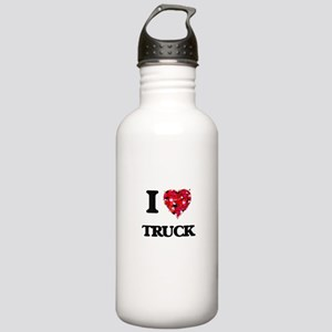 I Love My TRUCK Stainless Water Bottle 1.0L