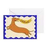 Celebrate Weiner (Blank inside) Greeting Cards (Pk