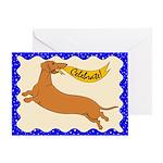 Celebrate Weiner (Blank inside) Greeting Card