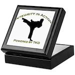 Taekwondo Integrity in Action Keepsake Box