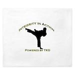 Taekwondo Integrity in Action King Duvet