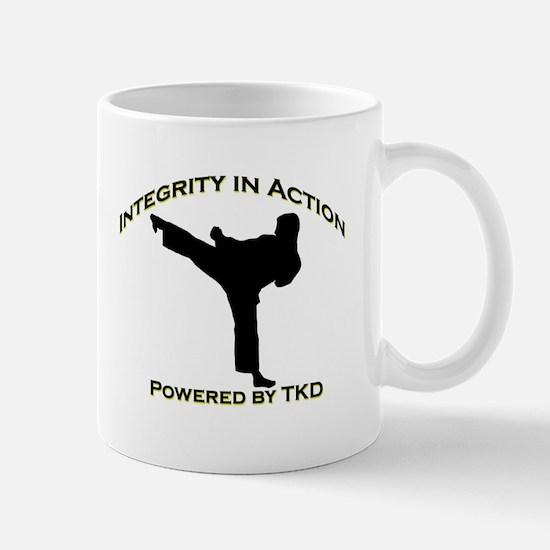 Taekwondo Integrity in Action Mugs