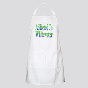 Addicted to Whitewater BBQ Apron
