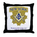 Wadsworth Lodge 417 Throw Pillow