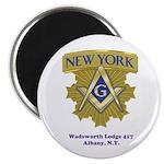 Wadsworth Lodge 417 Magnet
