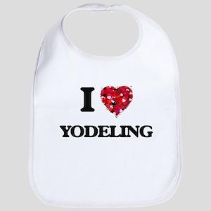 I Love My YODELING Bib