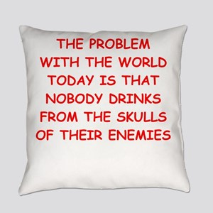 skulls of enemies Everyday Pillow