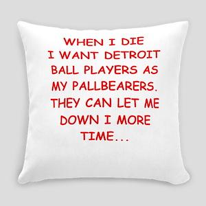 detroit sports joke Everyday Pillow