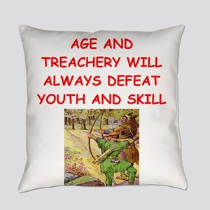 i love archery Everyday Pillow