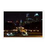 A Night View Of Philly Postcards (Package of 8)