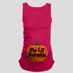 My Lil' Pumpkin Maternity Tank Top
