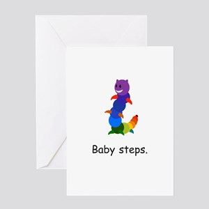 Rainbow Inchworm Gifts Greeting Cards