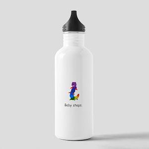 Rainbow Inchworm Gifts Water Bottle