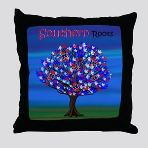 Rebel Roots Throw Pillow