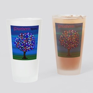 Rebel Roots Drinking Glass