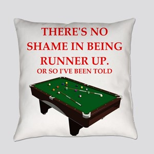 billiards joke Everyday Pillow