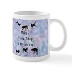 Adopt A Rescue Dog Mug