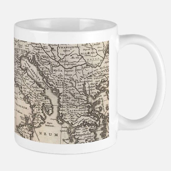 Vintage Map of Europe (1852) Mugs