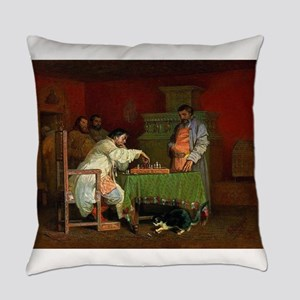 chess in art Everyday Pillow
