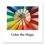 Color The Magic Artists Pencil Gifts Square Car Ma
