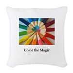 Color The Magic Artists Pencil Gifts Woven Throw P