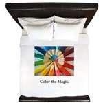 Color The Magic Artists Pencil Gifts King Duvet