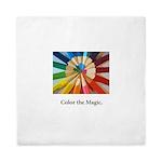 Color The Magic Artists Pencil Gifts Queen Duvet