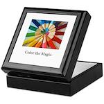 Color The Magic Artists Pencil Gifts Keepsake Box