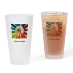 Color The Magic Artists Pencil Gifts Drinking Glas
