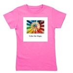 Color The Magic Artists Pencil Gifts Girl's Tee