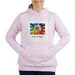 Color The Magic Artists Pencil Gifts Women's Hoode