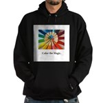 Color The Magic Artists Pencil Gifts Hoodie