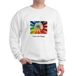 Color The Magic Artists Pencil Gifts Sweatshirt
