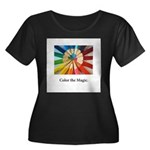 Color The Magic Artists Pencil Gifts Plus Size T-S