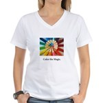 Color The Magic Artists Pencil Gifts T-Shirt
