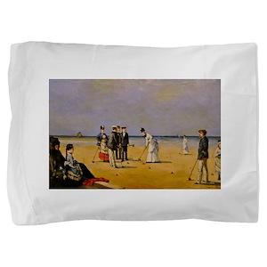 croquet art Pillow Sham