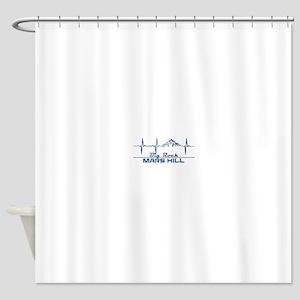 Big Rock - Mars Hill - Maine Shower Curtain