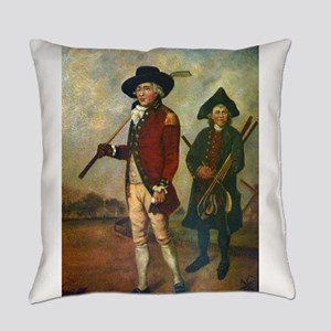 golfing art Everyday Pillow