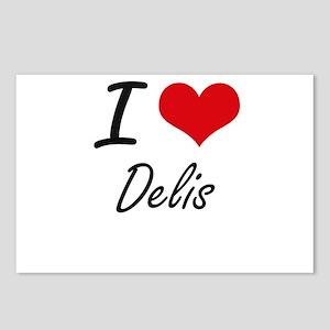 I love Delis Postcards (Package of 8)